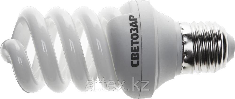 """Энергосберегающая лампа СВЕТОЗАР """"ЭКОНОМ"""" спираль,цоколь E27(стандарт),Т3,яркий белый свет(4000 К),  44354-15_z01"""