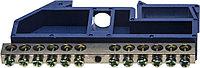 Шина СВЕТОЗАР нулевая на DIN-изоляторе, макс. ток 100А, 5,2мм, 12 полюсов 49807-12