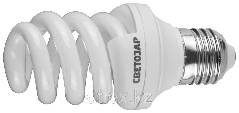 """Энергосберегающая лампа СВЕТОЗАР """"ЭКОНОМ"""" спираль,цоколь E27(стандарт),Т3,теплый белый свет(2700 К),  44352-12_z01"""