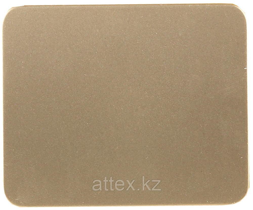 """Выключатель СВЕТОЗАР """"ГАММА""""  одноклавишный, без вставки и рамки, цвет золотой металлик, 10A/~250B SV-54130-GM"""