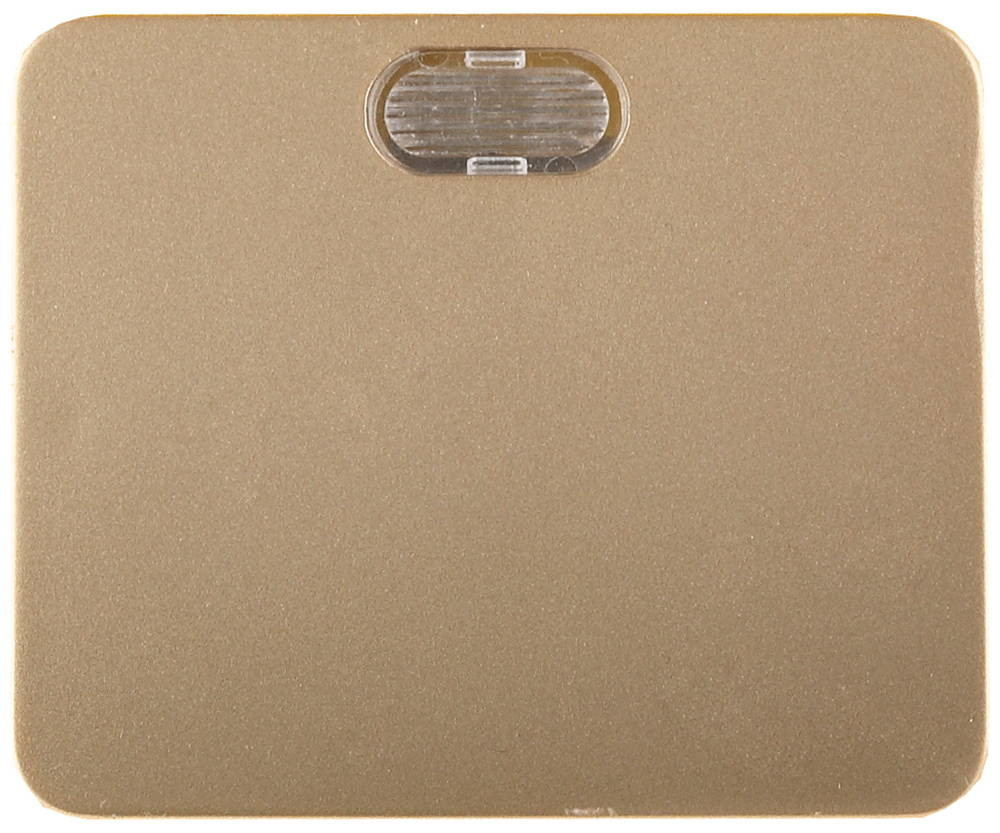 Одноклавишный, золотой металлик 10А, 250В, СВЕТОЗАР, ГАММА, SV-54131-GM