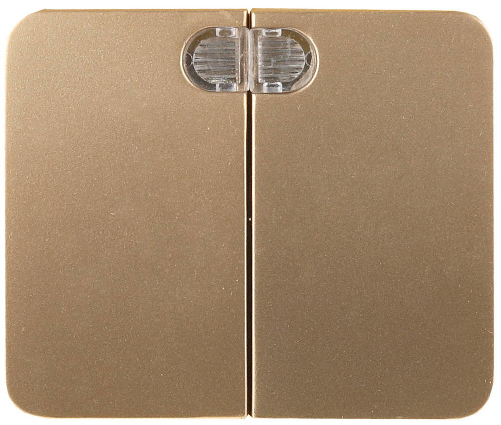 Двухклавишный, без вставки и рамки, 10А, 250В, СВЕТОЗАР, ГАММА, SV-54135-GM