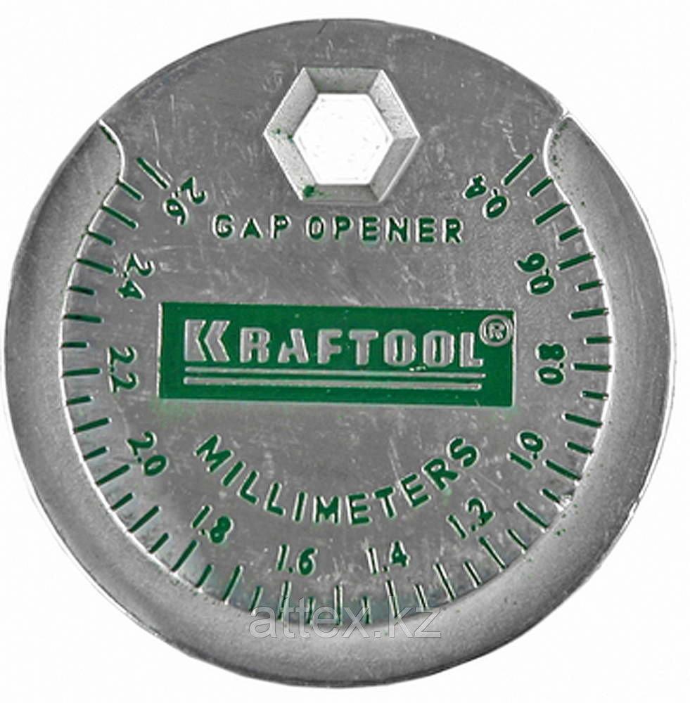 Измеритель зазора свечи KRAFTOOL с градуировкой, 0,4-2,6мм 43258