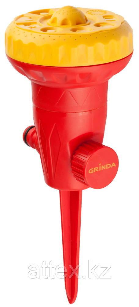 Распылитель GRINDA на пике, из ударопрочной пластмассы, 9-ти позиционный 427631