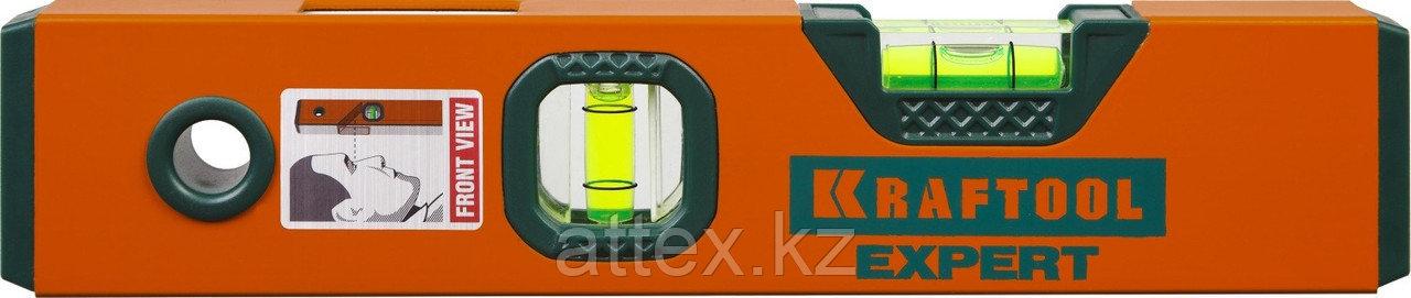 "Уровень коробчатый ""EXPERT"", KRAFTOOL 34710-025, 2 ампулы, 0,5 мм/м, 250мм  34710-025_z01"