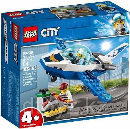 Lego City 60206 Воздушная полиция: Патрульный самолёт, Лего Город Сити