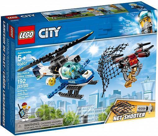 Lego City 60207 Воздушная полиция: Погоня дронов, Лего Город Сити
