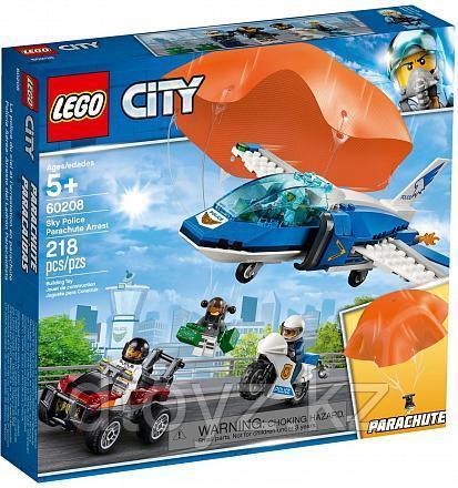 Lego City 60208 Воздушная полиция: Арест парашютиста, Лего Город Сити