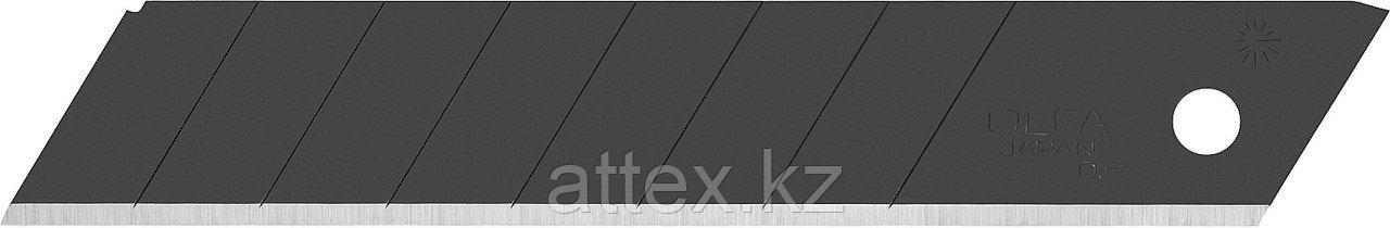 Лезвие OLFA BLACK MAX сегментированное, 18х100х0,5мм, 10шт OL-LBB-10B