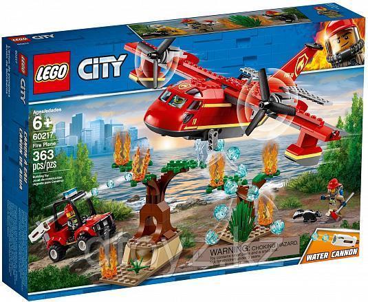 Lego City 60217 Пожарные: Пожарный самолет, Лего Город Сити