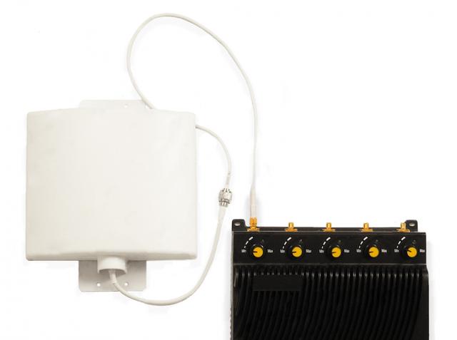 Подавитель Аллигатор 150 5 стандартов подавления связи до 150 метров с направленными антеннами
