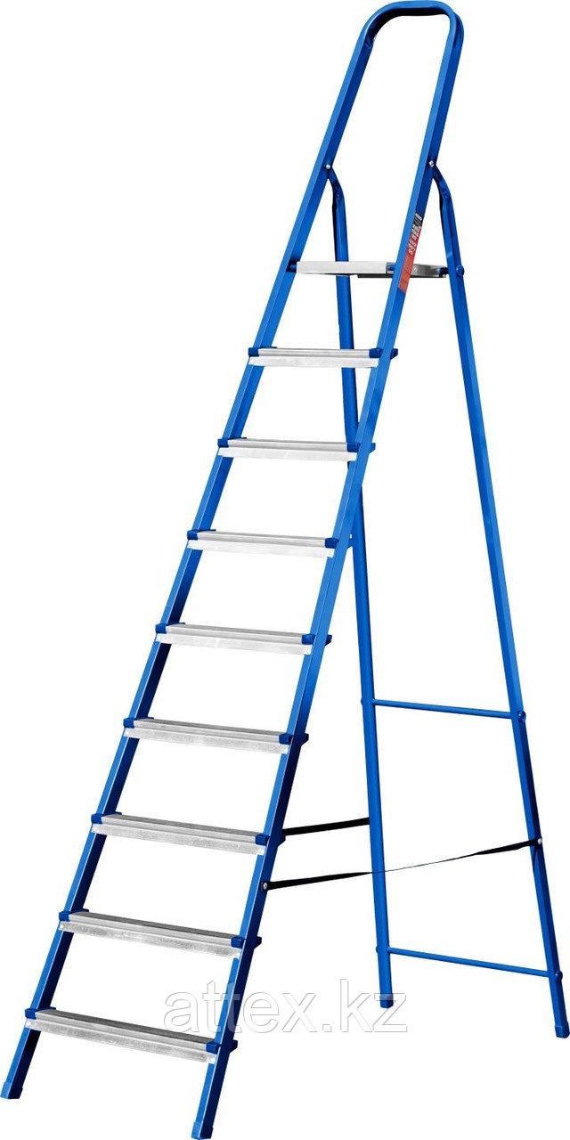 Лестница-стремянка стальная, 9 ступеней, 182 см, MIRAX  38800-09
