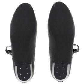 Туфли народные женские, длина по стельке 27 см, цвет чёрный - фото 3