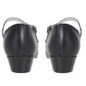 Туфли народные женские, длина по стельке 27 см, цвет чёрный - фото 4