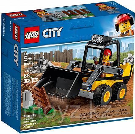 Lego City 60219 Транспорт: Строительный погрузчик, Лего Город Сити