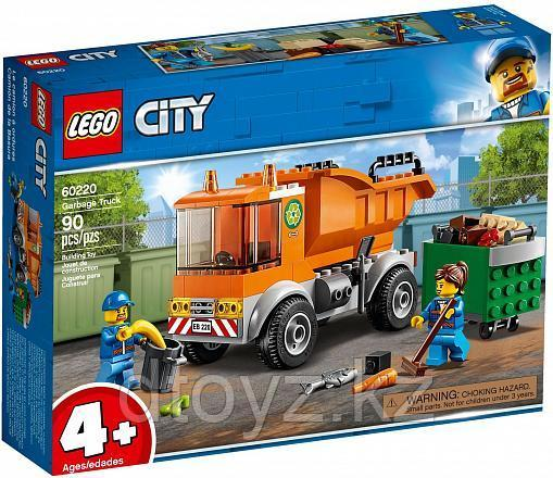 Lego City 60220 Транспорт: Мусоровоз, Лего Город Сити