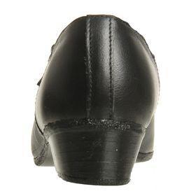 Туфли народные женские, длина по стельке 20 см, цвет чёрный - фото 3
