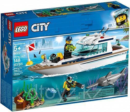 Lego City 60221 Транспорт: Яхта для дайвинга, Лего Город Сити