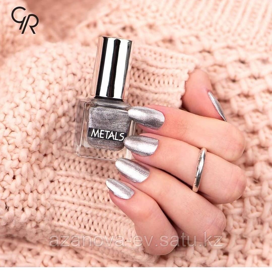 Лак для ногтей Metals Metallic Nail Color - фото 3