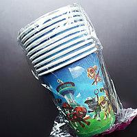 """Одноразовые бумажные стаканчики """"Щенячий Патруль"""", фото 1"""