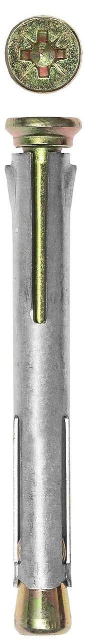 Анкер рамный с потайной головкой, Pz, 10,0х182мм, 30шт, ЗУБР 4-302233-10-182