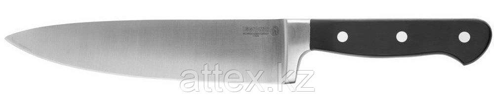 """Нож LEGIONER """"FLAVIA"""" шеф-повара, пластиковая рукоятка, лезвие из молибденванадиевой стали, 200мм 47921"""