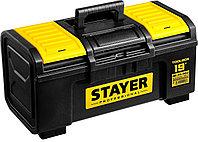 "Ящик для инструмента ""TOOLBOX-19"" пластиковый, STAYER Professional 38167-19, фото 1"