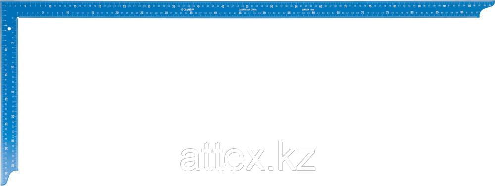 """Угольник ЗУБР """"ЭКСПЕРТ"""" плотницкий, цельнометалличесикий, повышенной жесткости с особостойким покрытием, 1000 х 400 мм 3437-100"""