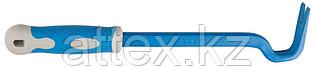 Гвоздодер ЗУБР кованый, усиленный, 22х12мм, с обрезин. Ручкой, 430мм 21605-45