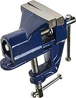 Тиски DEXX настольные с винтовым зажимом, 60 мм 32473-60