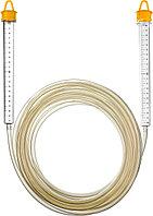 """Гидроуровень STAYER """"MASTER"""" с усиленной измерительной колбой большого размера, d 6мм, 7м 3486-06-07, фото 1"""