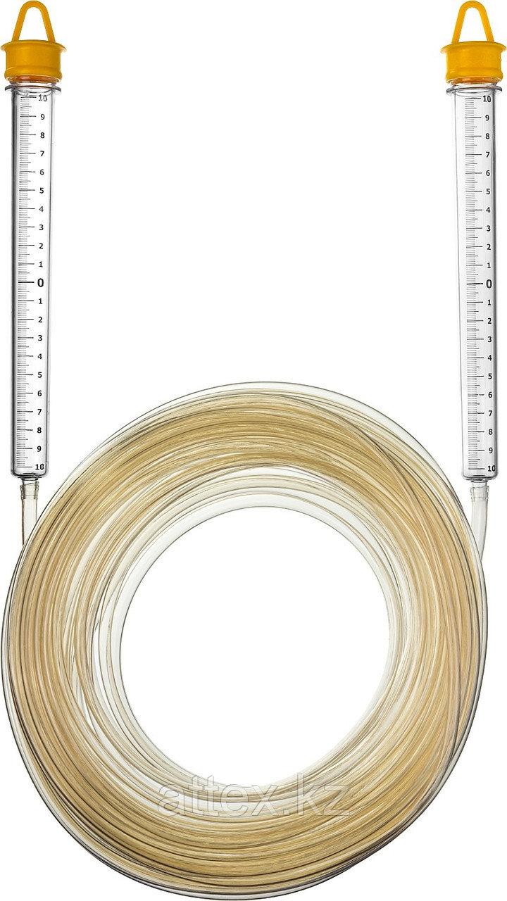 """Гидроуровень STAYER """"MASTER"""" с усиленной измерительной колбой большого размера, d 6мм, 20м 3486-06-20"""