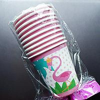 """Одноразовые бумажные стаканы """"Фламинго"""", фото 1"""