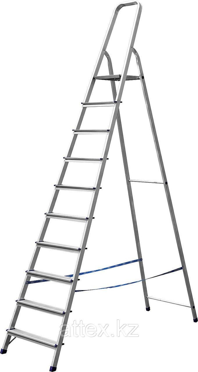 Лестница-стремянка алюминиевая СИБИН 38801-10