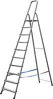 Лестница-стремянка алюминиевая СИБИН 38801-10, фото 1