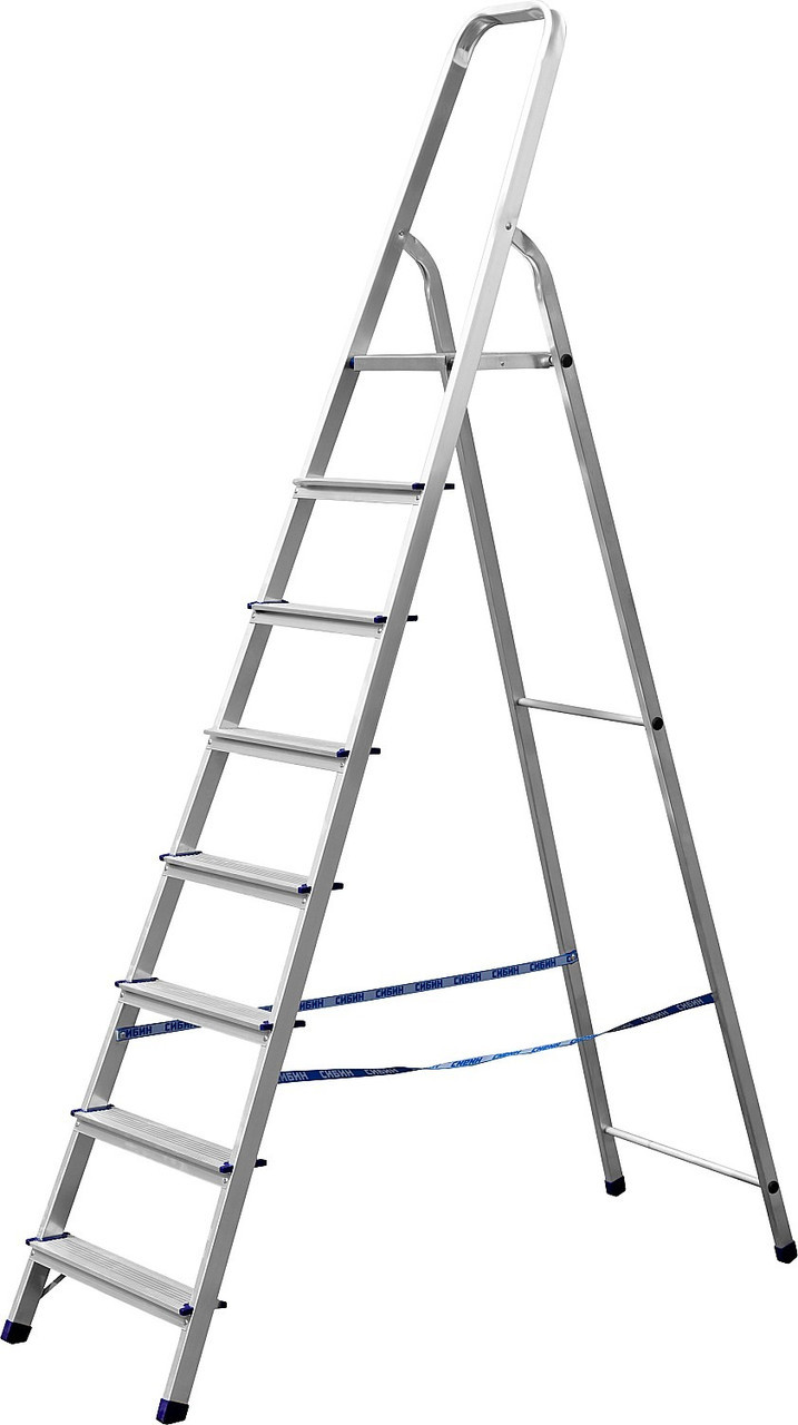 Лестница-стремянка алюминиевая СИБИН 38801-8
