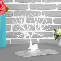 Подставка для украшений 'Олень', 25*15*22 см, прямоугольное основание, цвет белый