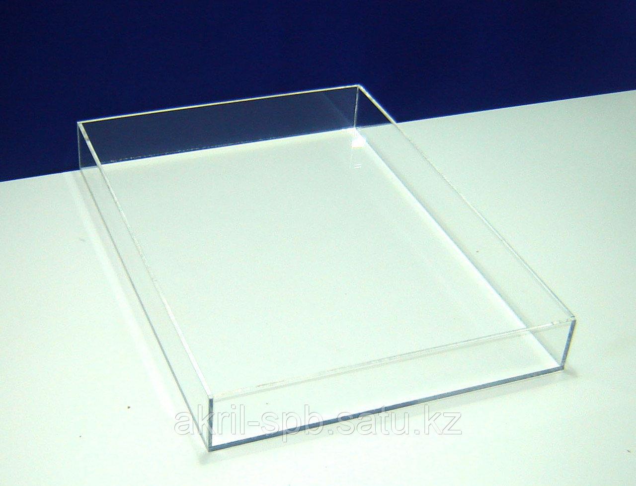 Короб для эбру А3 425х303х46 мм внутренний размер прозрачный