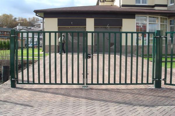 Ворота без экрана №2