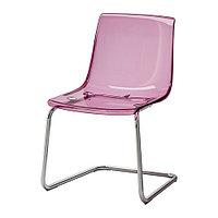Стул ТОБИАС сиреневый/хромированный ИКЕА, IKEA, фото 1