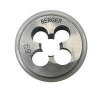 Плашка метрическая BERGER, М14х1,25 мм (комплект из 2 шт.)