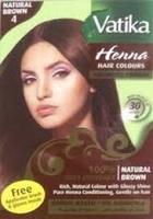 """Краска для волос с хной Vatika Henna Natural Brown """"Естественный коричневый"""""""
