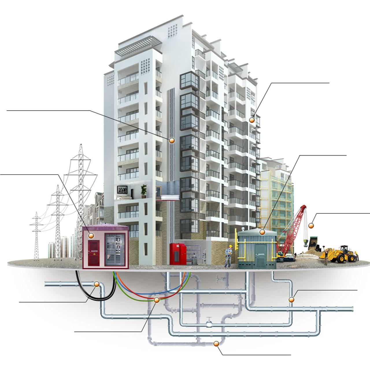 Строительство наружных систем электроснабжения