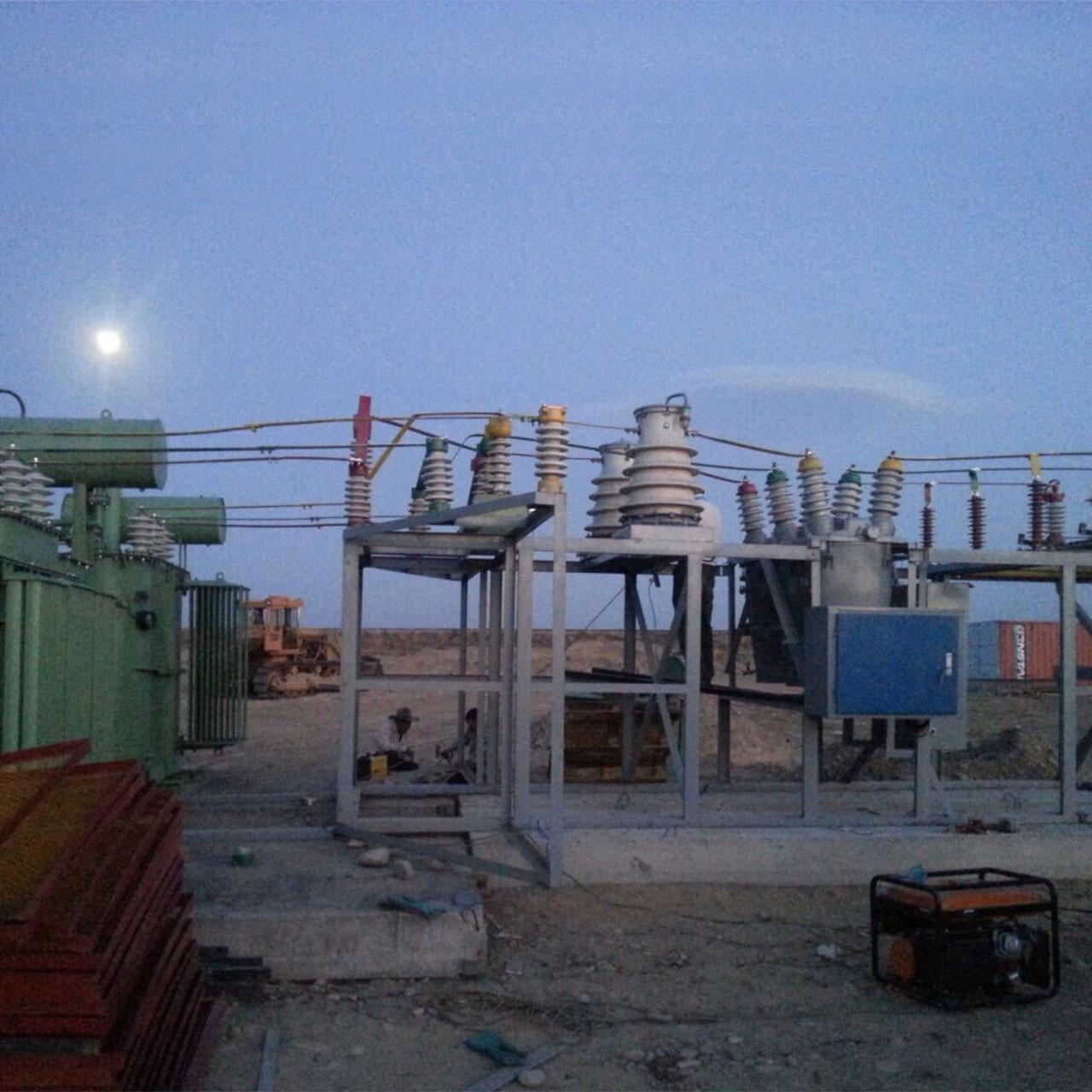 Строительство подстанции 35 КВ