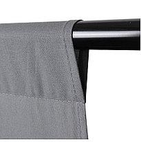 Серый фон 6х3 м Студийный, тканевый, фото 3