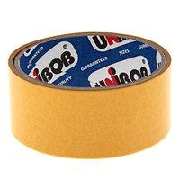 Клейкая лента двухсторонняя UNIBOB 38мм х 5м UNIBOB (комплект из 2 шт.)