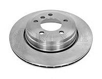 Тормозные диски Bmw 7  (E65) объем 3.0-3.5   (задние, Meyle, D324), фото 1