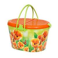 Корзина для пикника 'Тюльпаны'
