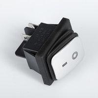 Выключатель клавишный без подсветки, пылевлагозащищенный