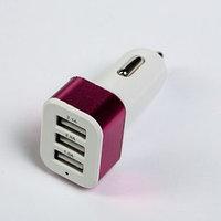 Зарядное устройство TORSO, 12-24 В, 3 USB 1.0 А, 2.0 А, 2.1 А, микс